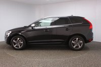 USED 2016 65 VOLVO XC60 2.0 D4 R-DESIGN LUX NAV 5DR AUTO 1 OWNER 188 BHP SERVICE HISTORY + HEATED LEATHER SEATS + SATELLITE NAVIGATION + PARKING SENSOR + BLUETOOTH + CLIMATE CONTROL + MULTI FUNCTION WHEEL + XENON HEADLIGHTS + PRIVACY GLASS + DAB RADIO + ELECTRIC/MEMORY FRONT SEATS + RADIO/CD/AUX/USB + ELECTRIC WINDOWS + ELECTRIC/HEATED/FOLDING DOOR MIRRORS + 18 INCH ALLOY WHEELS