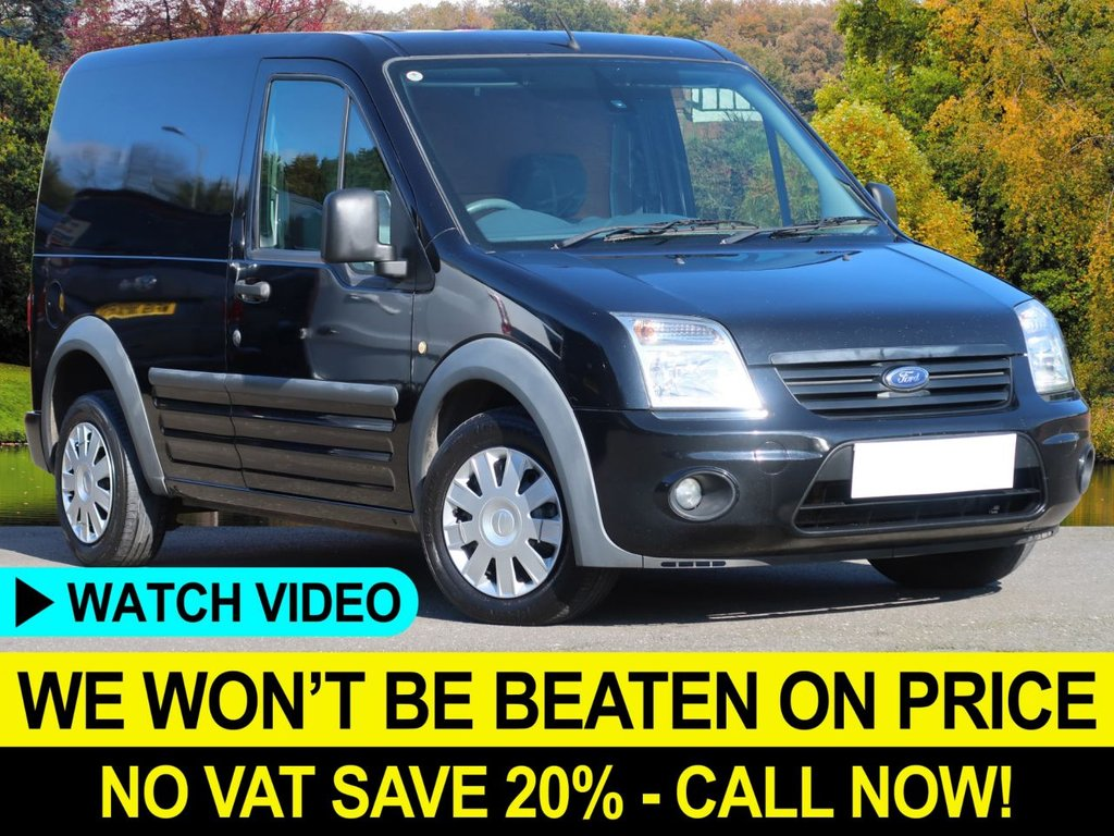 USED 2012 61 FORD TRANSIT CONNECT 1.8 TDCI TREND 200 SWB PANEL VAN NO VAT TO PAY - NO VAT TO PAY