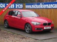 2012 BMW 1 SERIES 1.6 116I SPORT 5d 135 BHP £6195.00