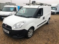 USED 2014 63 FIAT DOBLO 1.6 16V MULTIJET 105 BHP DIRECT FROM BT * 49000 MILES F.S.H * RACKING SYSTEM