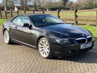 2006 BMW 6 SERIES 3.0 630I SPORT 2d 255 BHP £7843.00