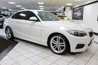 USED 2015 65 BMW 2 SERIES 2.0 220D M SPORT AUTO 190 BHP FBMWSH NAV CAMERA DAB B/TOOTH