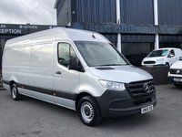 USED 2018 68 MERCEDES-BENZ SPRINTER 2.1 314 CDI 141 BHP 1 OWNER, EURO 6, SILVER, Reverse Camera - Front & Rear Sensors