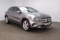 USED 2015 65 MERCEDES-BENZ GLA-CLASS 2.1 GLA200 CDI SPORT 5DR AUTO 136 BHP SERVICE HISTORY + £20 12 MONTHS ROAD TAX + LEATHER SEATS + REVERSE CAMERA + BLUETOOTH + CRUISE CONTROL + AIR CONDITIONING + MULTI FUNCTION WHEEL + PRIVACY GLASS + ELECTRIC WINDOWS + ELECTRIC MIRRORS + 18 INCH ALLOY WHEELS