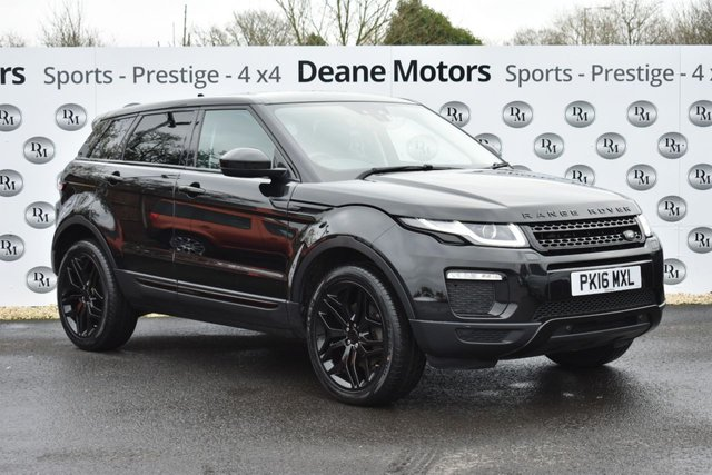 2016 16 LAND ROVER RANGE ROVER EVOQUE 2.0 TD4 SE TECH 5d 177 BHP BLACK PACK