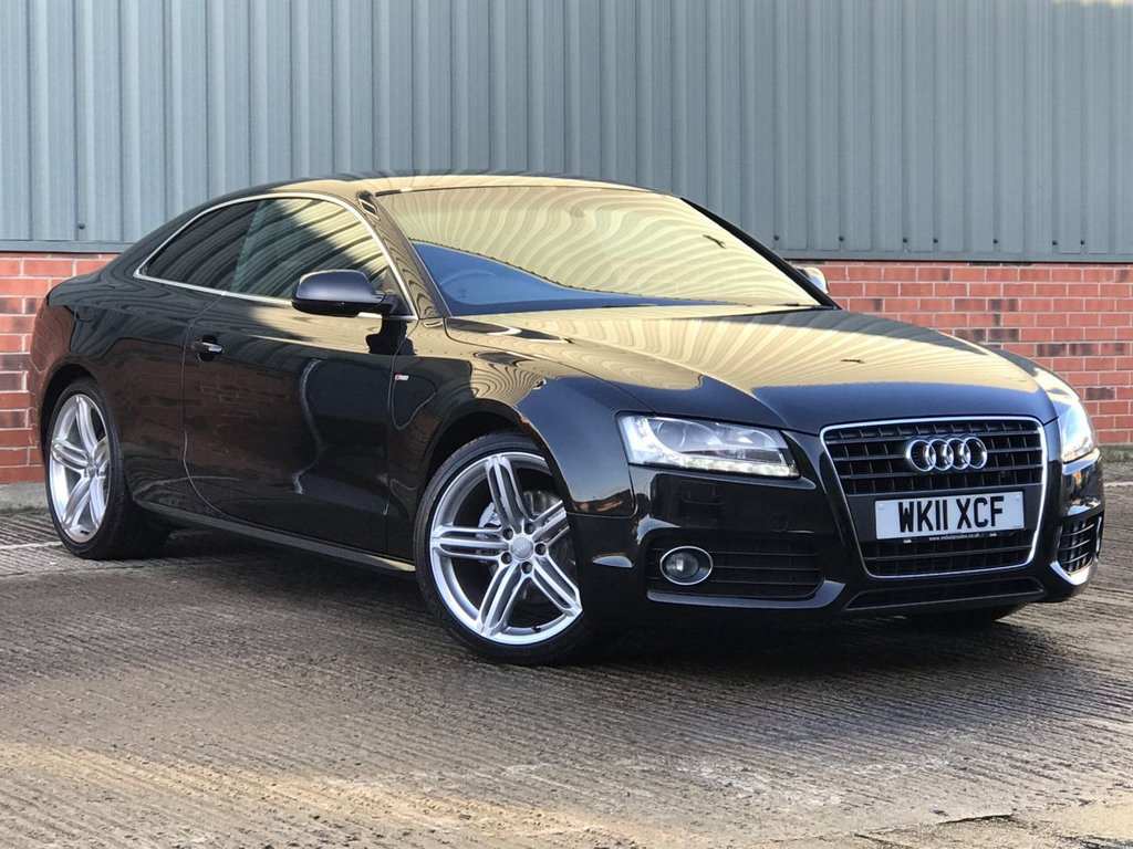 USED 2011 11 AUDI A5 2.0 TDI S LINE 2d 168 BHP EXCELLENT CONDITION