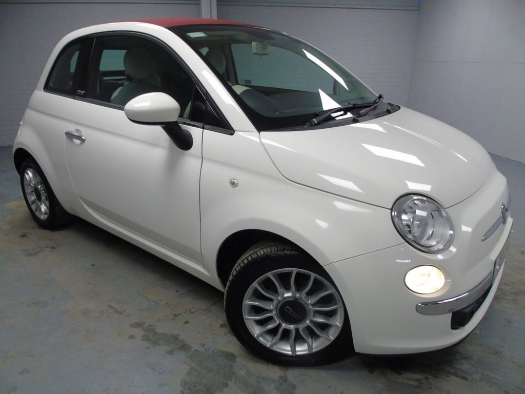 USED 2011 FIAT 500 1.2 C LOUNGE 3d 69 BHP £106 a month, T&Cs apply.
