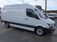 USED 2016 66 MERCEDES-BENZ SPRINTER 2.1 314CDI MWB HI ROOF 140 BHP [EURO 6]