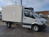 USED 2014 64 MERCEDES-BENZ SPRINTER 2.1 313 CDI MWB AUTOMATIC CHILLER BOX, 129 BHP [EURO 5]