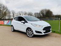 USED 2017 66 FORD FIESTA 1.0 TITANIUM X 3d 99 BHP Rev Cam, Sony Audio, B-tooth! Heated Half Leather Seats, DAB!
