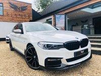 USED 2018 18 BMW 5 SERIES 3.0 530D M SPORT TOURING 5d AUTO 261 BHP