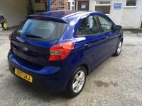 USED 2017 17 FORD KA+ 1.2 ZETEC 5d 69 BHP One Owner, Only £30 Road Tax & 18,000 Miles, Air Con, Remote Locking, Electric Windows