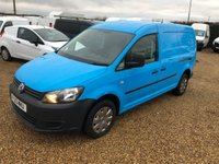 USED 2013 13 VOLKSWAGEN CADDY MAXI 1.6 C20 TDI 1d 101 BHP PANEL VAN