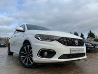 USED 2017 17 FIAT TIPO 1.4 LOUNGE 5d 94 BHP ELEC++NAV+17ALLOYS+AIRCON+AUX+PARKING+CLEANCAR+MEDIA+AUX+USB+CDC+