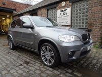 USED 2012 62 BMW X5 3.0 XDRIVE30D M SPORT 5d 241 BHP (Now Sold)