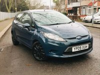 2009 FORD FIESTA 1.4 Style + 5dr £3895.00