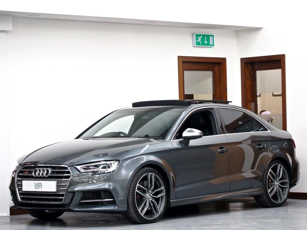 USED 2017 17 AUDI S3 2.0 TFSI S Tronic quattro (s/s) 4dr PAN ROOF + VIRTUAL COCKPIT