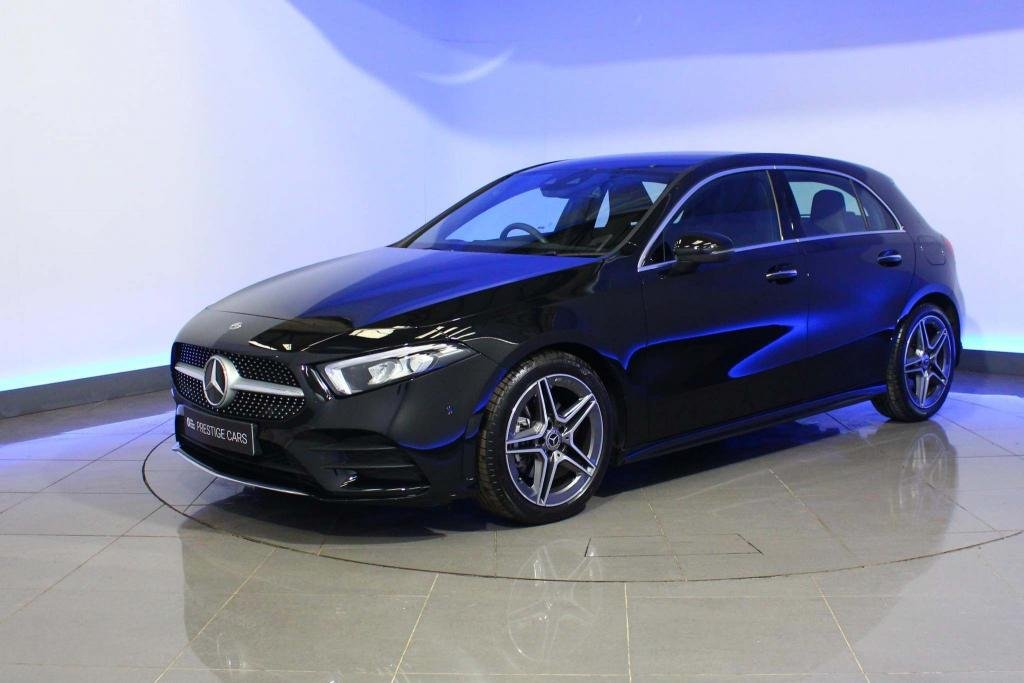 USED 2018 68 MERCEDES-BENZ A-CLASS 1.3 A200 AMG Line (Premium) 7G-DCT (s/s) 5dr ADVANCED NAVIGATION DAB RADIO