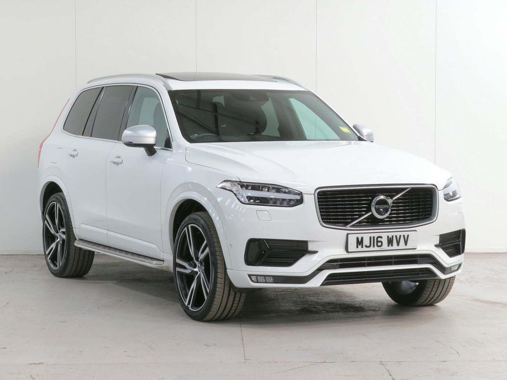 USED 2016 16 VOLVO XC90 2.0 D5 R-Design Geartronic 4WD (s/s) 5dr XENIUM+INTELLISAFE PRO+WINTER!
