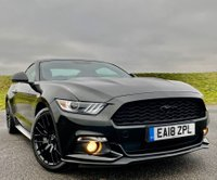 USED 2018 18 FORD MUSTANG 2.3T EcoBoost Fastback 2dr SHAKER+LOW MILES+BLACK PACK