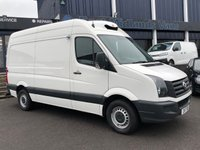 USED 2017 17 VOLKSWAGEN CRAFTER 2.0 CR35 TDI REFRIGERATED MWB BMT 139 BHP