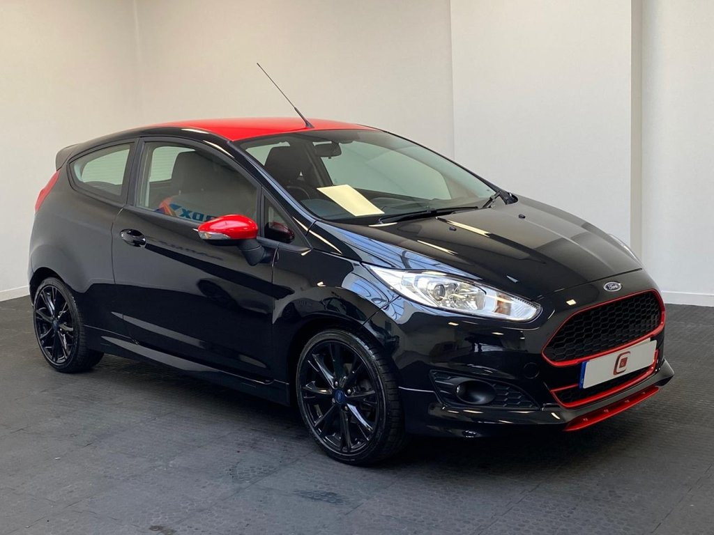 USED 2015 15 FORD FIESTA 1.0 ZETEC S BLACK EDITION 3d 139 BHP LOW MILES + LOW TAX + LOW INSURANCE + FINANCE AVAILABLE