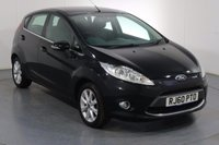 USED 2011 60 FORD FIESTA 1.2 ZETEC 5d 81 BHP BLUETOOTH I AIR CON I ISOFIX