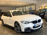 USED 2018 18 BMW 3 SERIES 2.0 320D XDRIVE M SPORT 4d 188 BHP BM PERFORMANCE STYLING+6.9%APR
