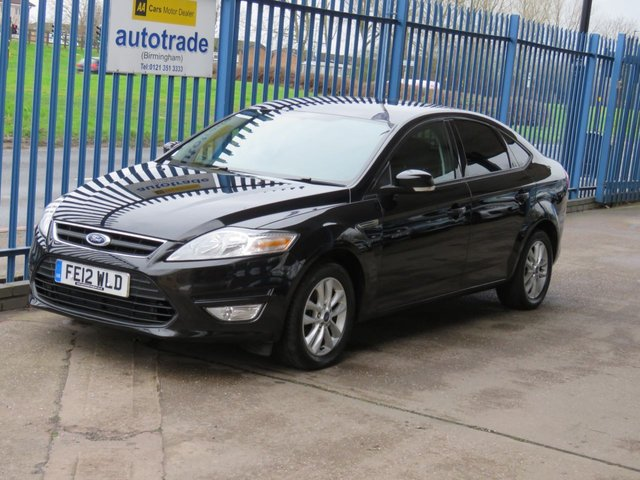 USED 2012 12 FORD MONDEO 2.0 ZETEC TDCI 5dr Air con Cruise Alloys