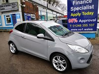 2015 FORD KA 1.2 TITANIUM 3d 69 BHP, Full Leather, Glass Roof, Only 23000 miles, One Owner £6495.00