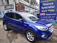 2017 FORD KUGA 1.5 TITANIUM TDCI 5d 119 BHP Automatic, One Owner, 31000 miles, Sat Nav, Appearance Pack £14995.00