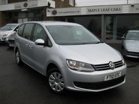 USED 2012 12 VOLKSWAGEN SHARAN 2.0 S TDI DSG 5d 142 BHP Automatic DSG. Full History. 7 seats. Air con Climate control. Bluemotion. Auto stop start.