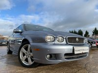 USED 2009 59 JAGUAR X-TYPE 2.2 SE 4d 145 BHP 2KEYS+NAV+LEATHER+17ALLOYS+AIRCON+CLIMATE+PARKING+MEDIA+PHONE+BLUETOOTH+FSH 10 STAMPS+