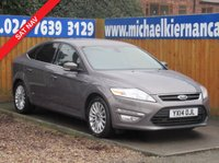 USED 2014 14 FORD MONDEO 2.0 ZETEC BUSINESS EDITION TDCI 5d 138 BHP FSH, SAT NAV, BLUETOOTH