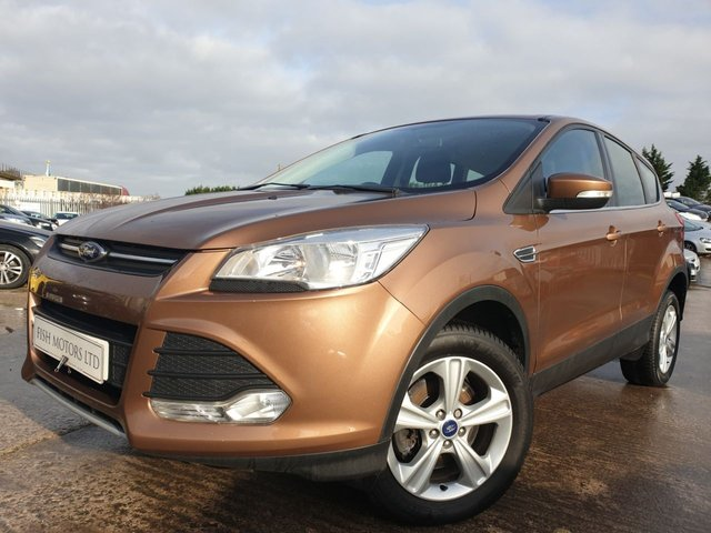 USED 2014 14 FORD KUGA 2.0 ZETEC TDCI 5d 138 BHP PHONE+BLUETOOTH+ELECS+CLEANCAR+MEDIA+AUX+USB+AIRCON+CRUISE+CLIMATE+