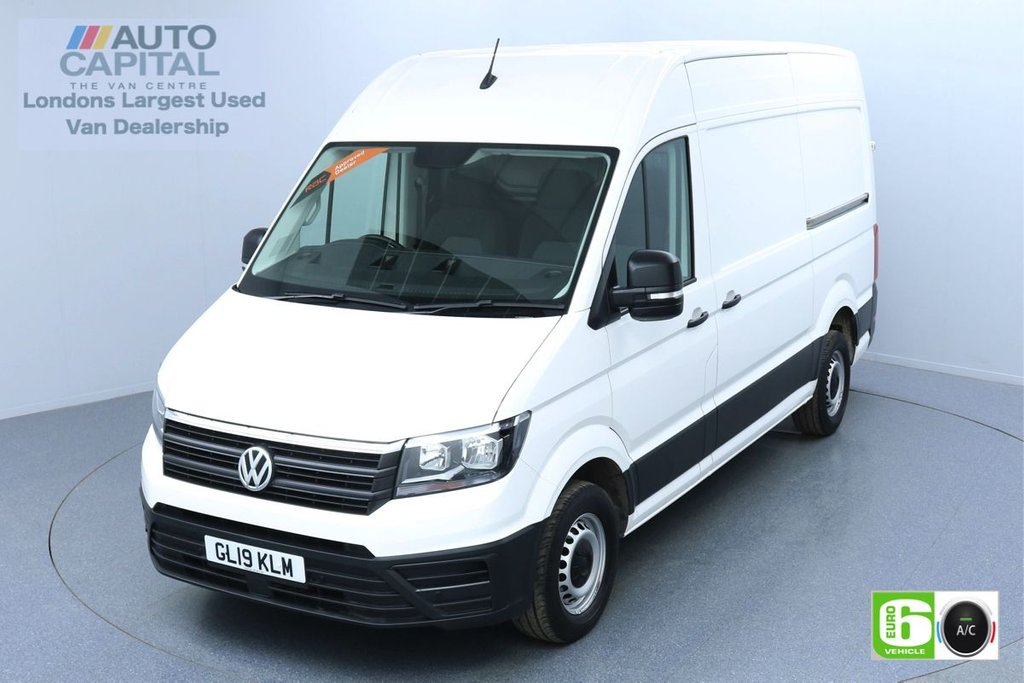 USED 2019 19 VOLKSWAGEN CRAFTER 2.0 CR35 RWD TDI STARTLINE 138 BHP MWB EURO 6 ENGINE AIR CON   BUSINESS PACK   FRONT-REAR PARKING SENSORS