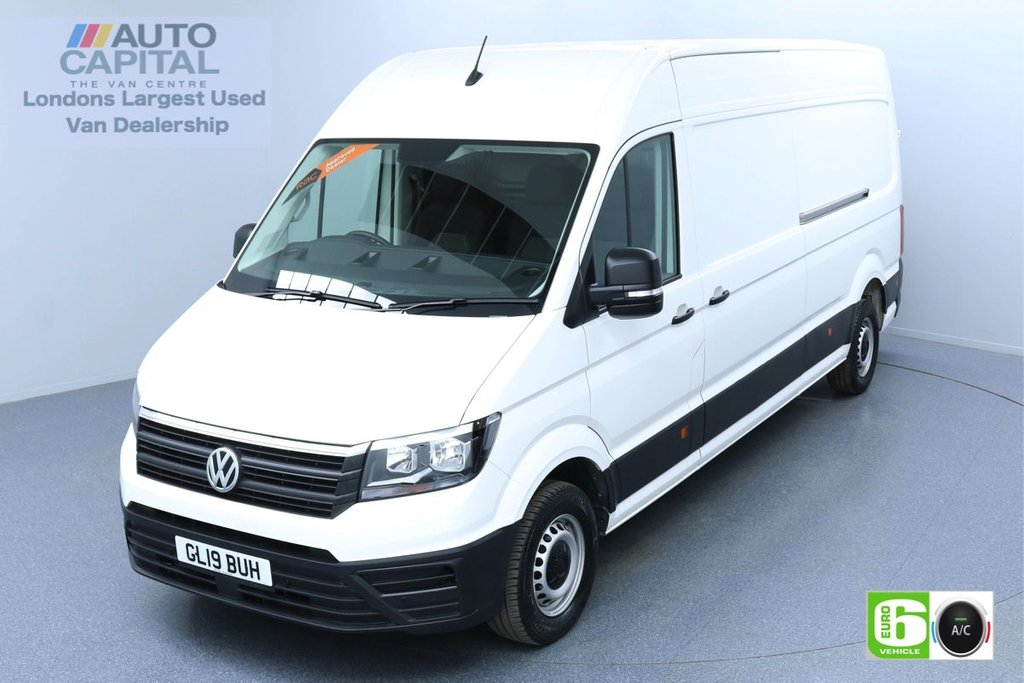 USED 2019 19 VOLKSWAGEN CRAFTER 2.0 CR35 RWD TDI STARTLINE 138 BHP LWB EURO 6 ENGINE AIR CON | BUSINESS PACK | FRONT-REAR PARKING SENSORS
