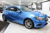 USED 2014 14 MERCEDES-BENZ A CLASS 1.6 A180 SPORT AUTO BLUEEFFICIENCY 122 BHP HEATED LEATHER SAT NAV CRUISE