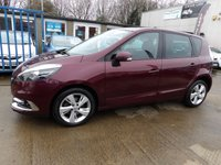 USED 2012 12 RENAULT SCENIC 1.5 DYNAMIQUE TOMTOM ENERGY DCI S/S 5d 110 BHP NEW MOT, SERVICE & WARRANTY