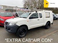 2015 TOYOTA HI-LUX *EXTRA CAB* 2.5 ACTIVE 4X4 D-4D 142 BHP *AIR CON*