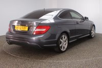 USED 2012 12 MERCEDES-BENZ C CLASS 2.1 C220 CDI BLUEEFFICIENCY AMG SPORT ED125 2DR AUTO 170 BHP  FULL SERVICE HISTORY + HALF LEATHER SEATS + SATELLITE NAVIGATION + PARKING SENSOR + BLUETOOTH + CRUISE CONTROL + CLIMATE CONTROL + MULTI FUNCTION WHEEL + PRIVACY GLASS + XENON HEADLIGHTS + DAB RADIO + ELECTRIC FRONT SEATS + ELECTRIC WINDOWS + ELECTRIC MIRRORS + 18 INCH ALLOY WHEELS