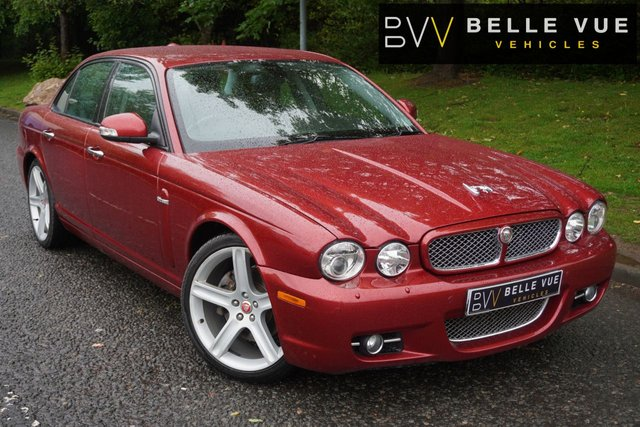 "USED 2008 58 JAGUAR XJ 2.7 V6 SPORT PREMIUM 4d 204 BHP *STUNNING IN RADIANCE RED, 20"" ALLOY WHEELS!*"