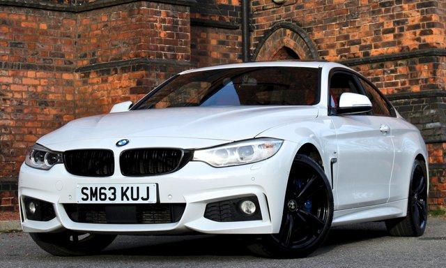 2014 63 BMW 4 SERIES 3.0 435I M SPORT 2d 302 BHP [ SUNROOF - M PLUS ]