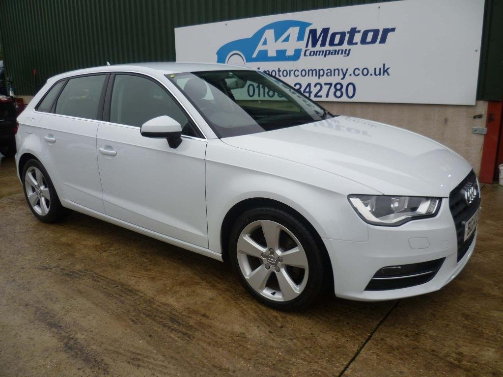 USED 2014 14 AUDI A3 2.0 TDI Sport Sportback S Tronic 5dr 100 + REVIEWS YOU CAN TRUST!!
