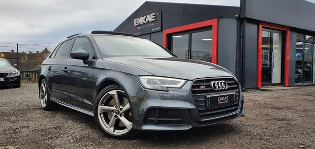 2017 67 AUDI A3 2.0 S3 SPORTBACK TFSI QUATTRO BLACK EDITION FULLY LOADED