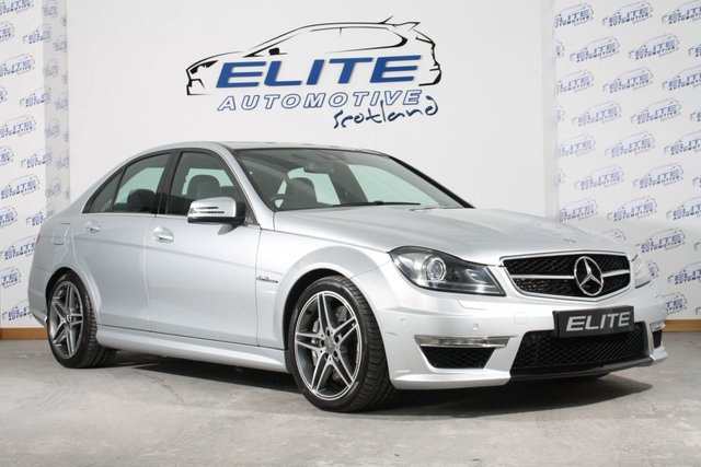 USED 2014 14 MERCEDES-BENZ C-CLASS 6.2 C63 AMG 4d 457 BHP MERCEDES C63 AMG 457BHP+LOW MILES+FSH+GREAT SPEC!!