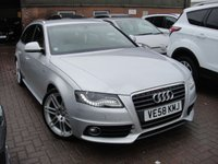 USED 2009 58 AUDI A4 2.0 AVANT TDI S LINE DPF 5d 141 BHP ANY PART EXCHANGE WELCOME, COUNTRY WIDE DELIVERY ARRANGED, HUGE SPEC