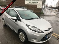 USED 2011 11 FORD FIESTA 1.2 EDGE 3d 81 BHP 12 MONTHS COMPREHENSIVE PARTS AND LABOUR WARRANTY