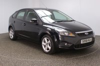 USED 2008 58 FORD FOCUS 1.6 ZETEC 5DR 100 BHP FORD SERVICE HISTORY + AIR CONDITIONING + RADIO/CD/AUX + ELECTRIC WINDOWS + ELECTRIC MIRRORS + 16 INCH ALLOY WHEELS