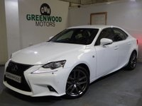 USED 2014 64 LEXUS IS 300 2.5 F Sport E-CVT 4dr